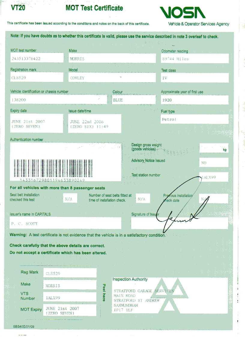 Car insurance documents - Insuring cat d cars