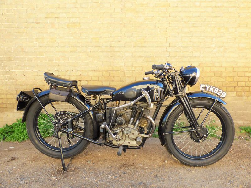 1938 New Imperial Model 23 Unit Minor 150cc