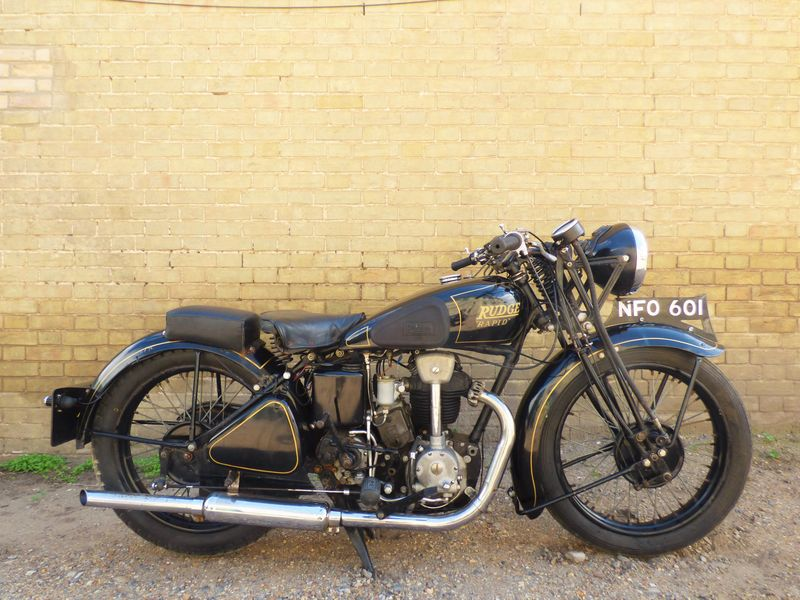 1937 Rudge Rapid 250cc